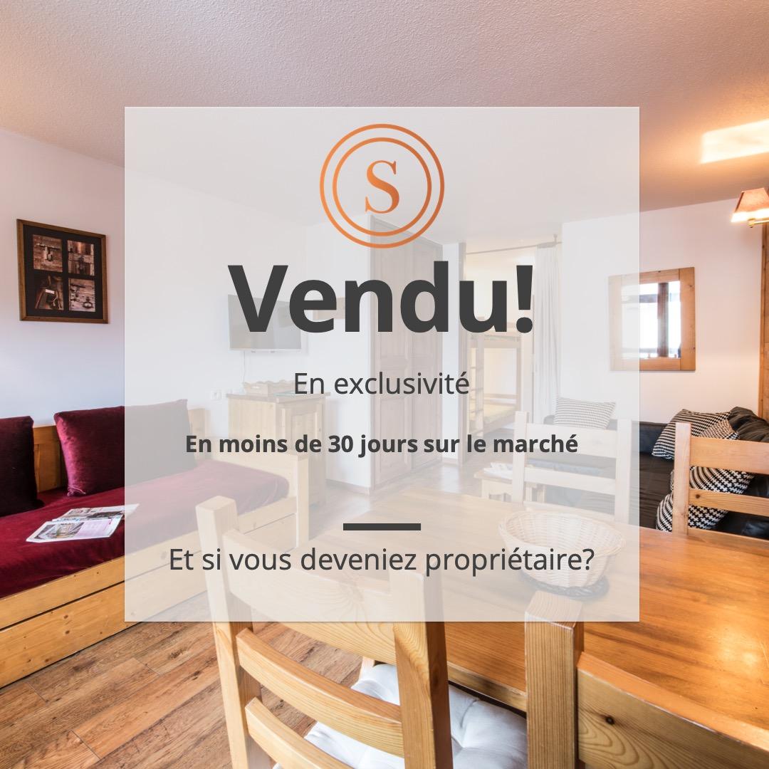EXCLUSIVITÉ – STUDIO VUE VANOISE – DERNIER ETAGE